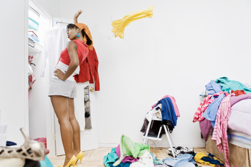 clean out your closet for spring