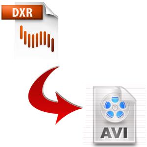 Convert DXR to AVI