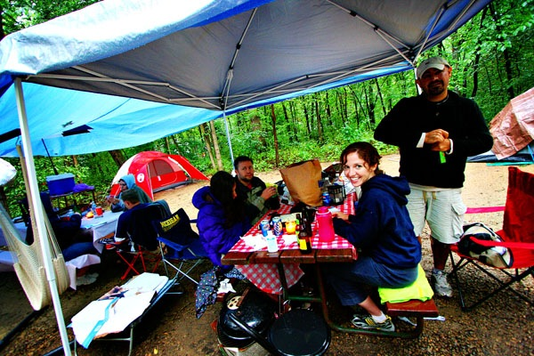 Cook in the Rain When Backpacking