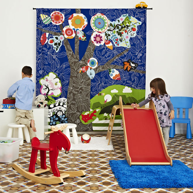 Create Wall Hangings with Kids