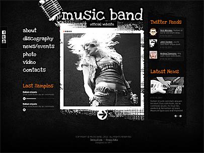 Create a Band Website