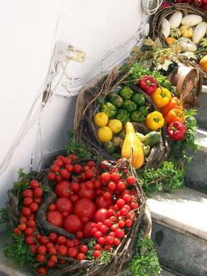 Natural Food Menu