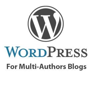 Author's Blog Using Wordpress