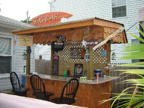 Tiki Bar for a Party