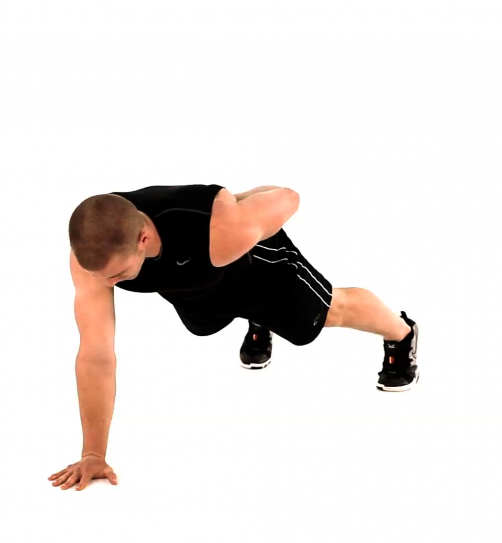 One-Handed Pushup
