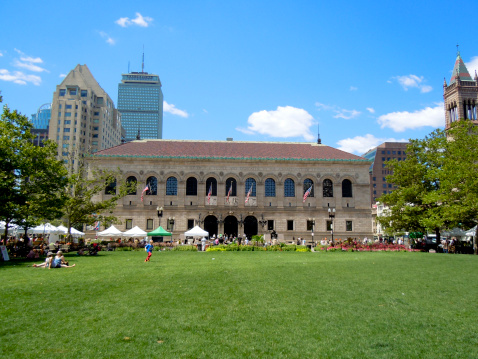 How to Enjoy the Boston Public Library