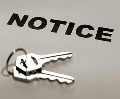 evict tenant on account of non-payment