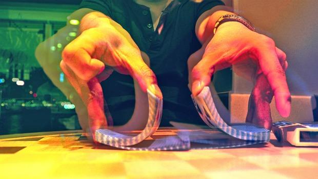 False Shuffle a Deck of Cards