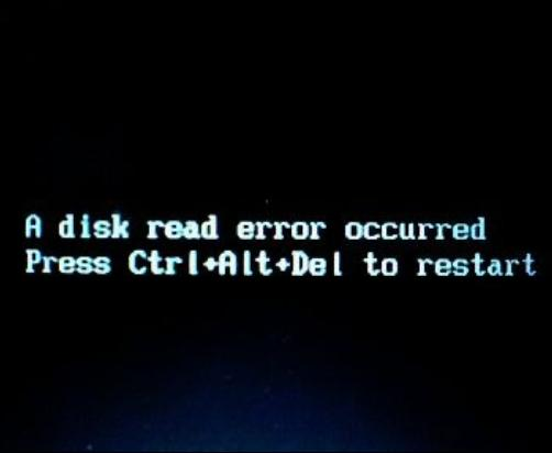Fix an Acer Disk Read Error