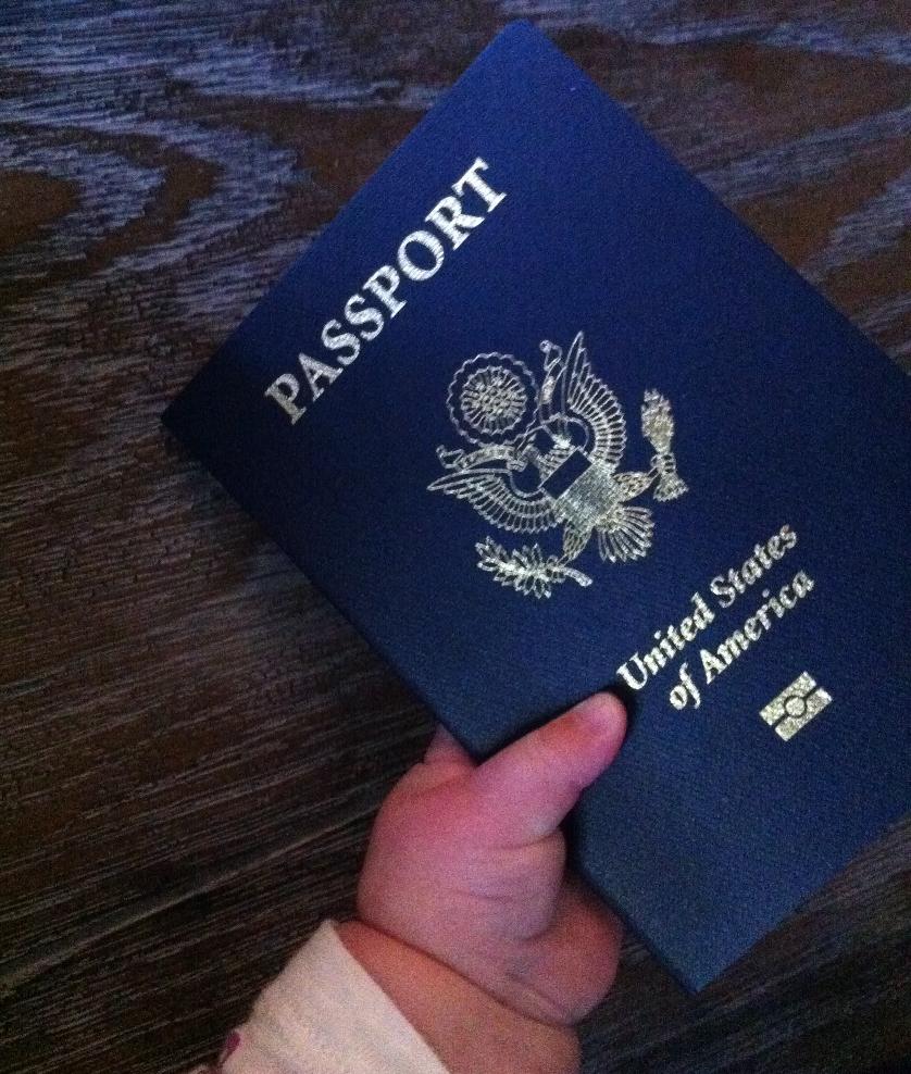 Endorsed on a Passport