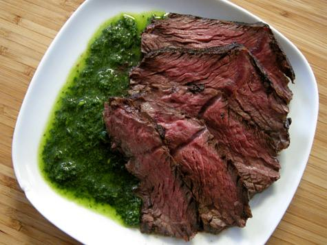 Grill a Chimichurri Steak