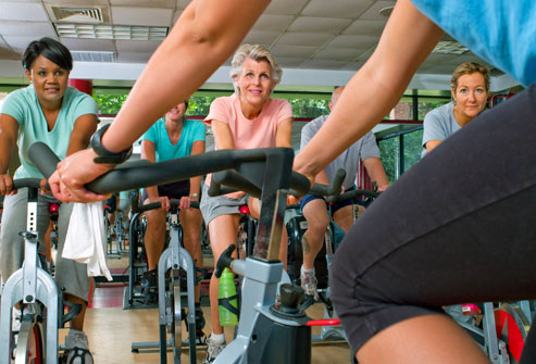 Improve in Spinning Class
