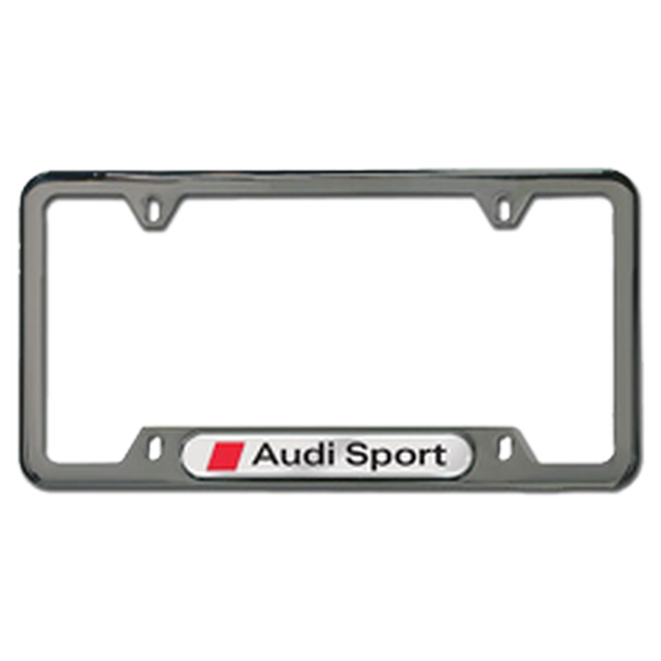 A number plate frame