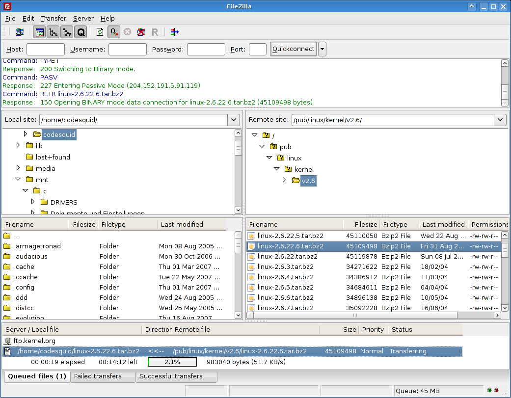 Install Multiple Wordpress Plugins Using FileZilla