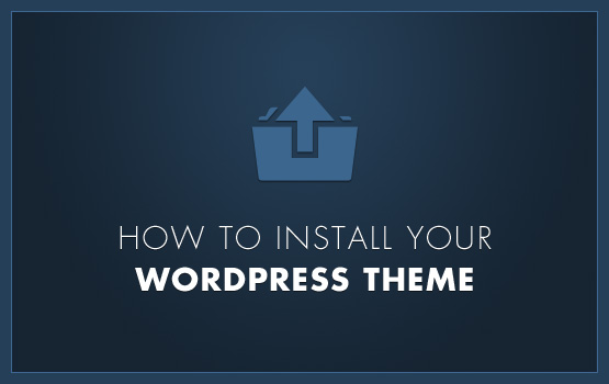 Install a Theme on WordPress