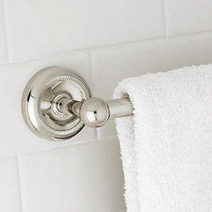 How to Install a Towel Bar in a Bathroom