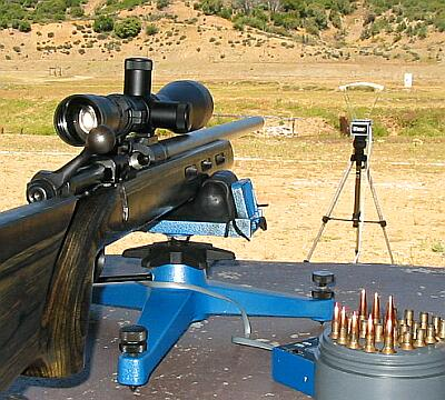 Bore sighting a rifle scope