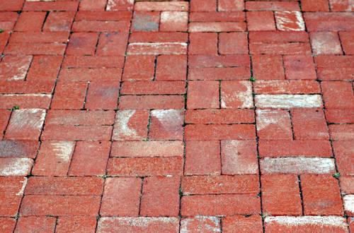Basket Weave Brick Walkway