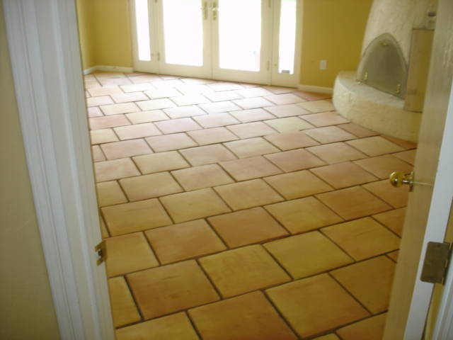 How To Lay A Ceramic Tile Brick Pattern