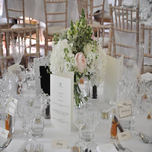 Lay a Wedding Table