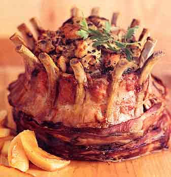 Tips to Make Apple Stuffed Crown Roast of Pork