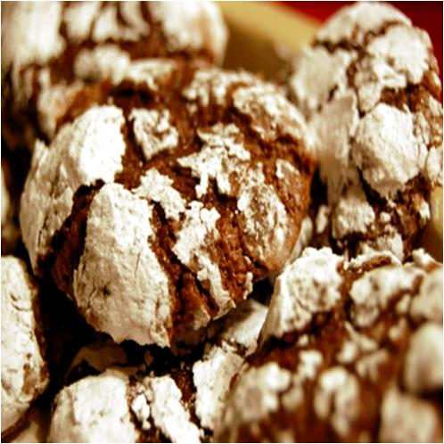 Chocolate Snowdrop Cookies Recipe