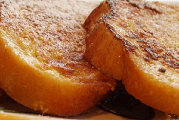 Make Fast Easy Vegan French Toast