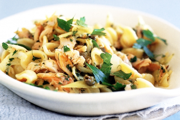 Fennel and Smoked Bacon Pasta