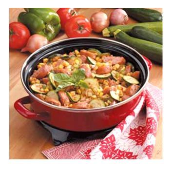 Grilled Kielbasa and Zucchini Recipe