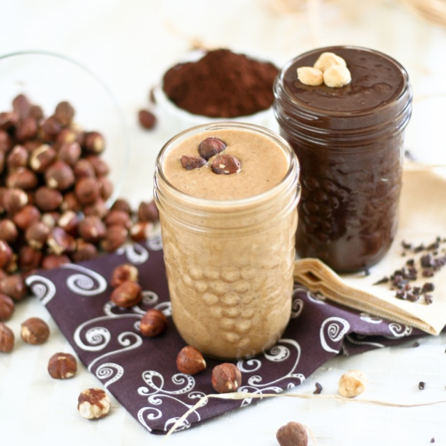 Hazelnut butter, delicious
