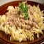 Make Homemade Ground Beef Stroganoff