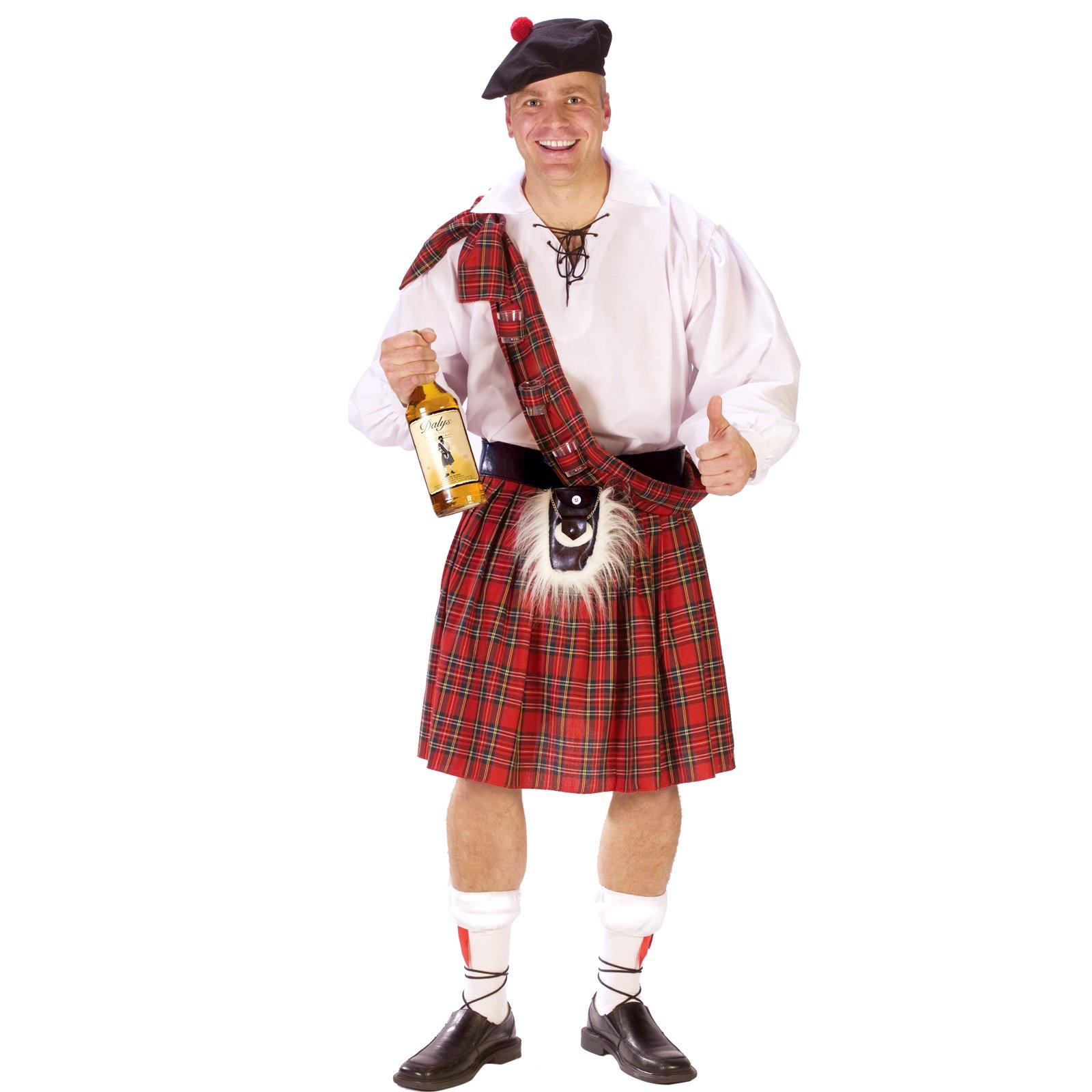 Man in Kilt costume