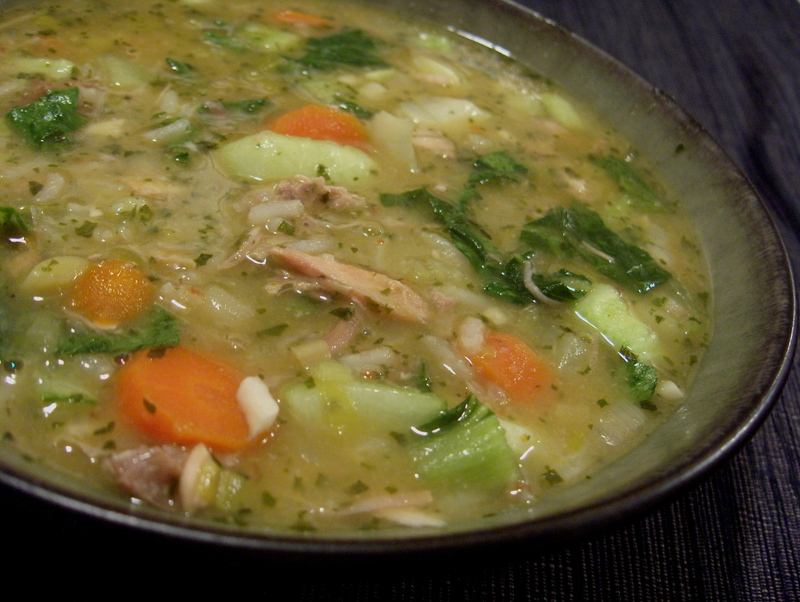 Guide to Make Laurie's Leftover Turkey Soup