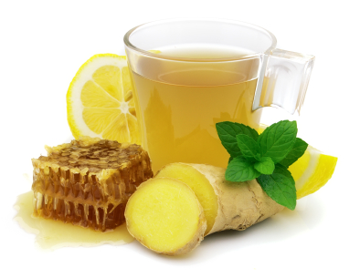 Lemon Honey Ginger Tea