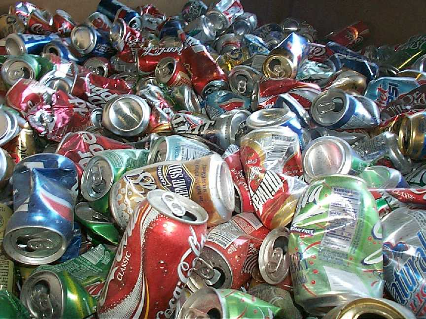 Soda Cans and Bottles