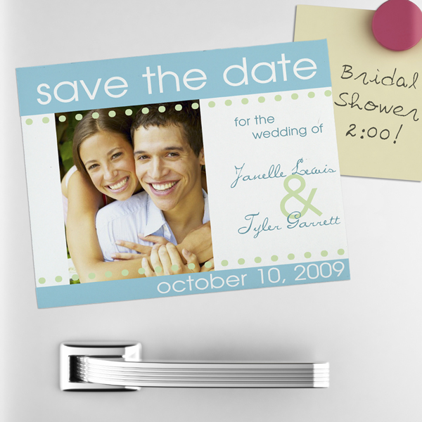How to make save the date magnets at home