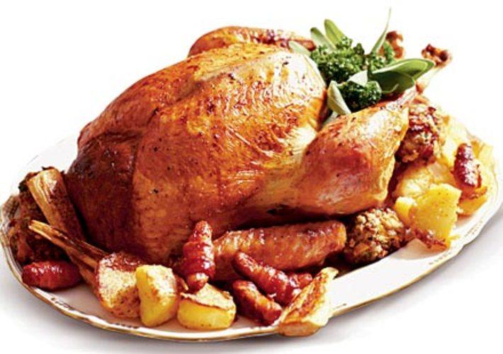 Make a Christmas Turkey Dinner
