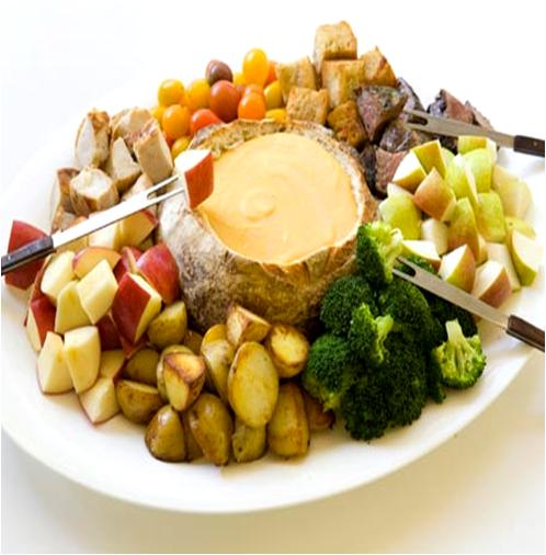 Creamy Veggie Fondue Recipes — Dishmaps