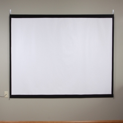 Make a Homemade Projector Screen