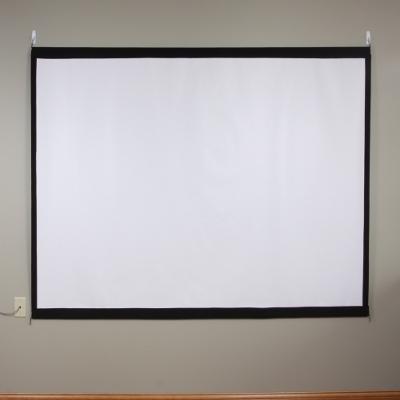Make a Homemade Projector Screen