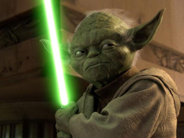 Yoda who is a Jedi
