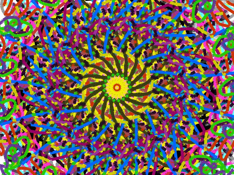 How to Make a Kaleidoscope Design