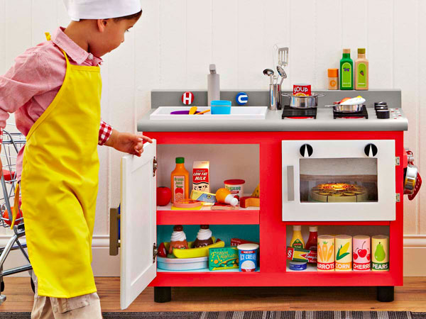 Make a Kitchen Set for a Child
