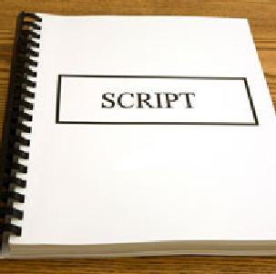 Making a movie script example