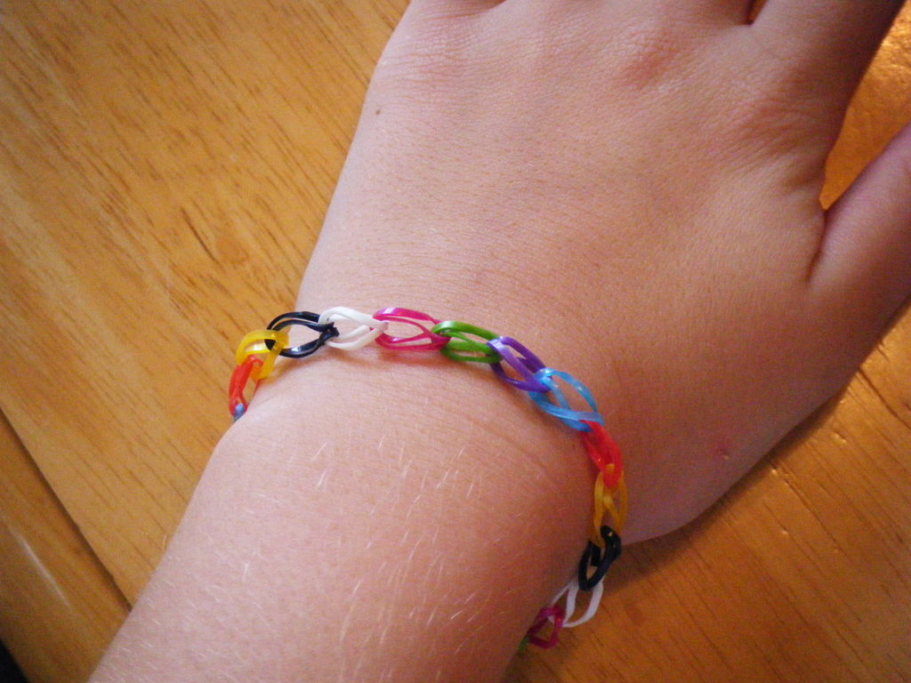 Make a Rubber Band Bracelet