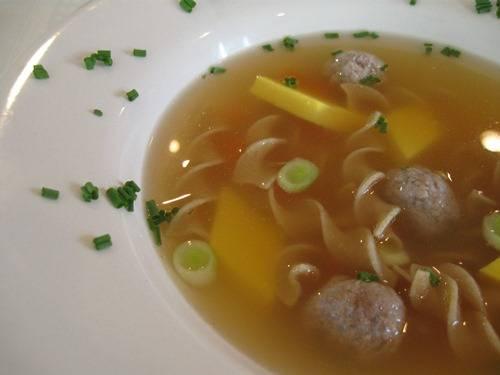 Make a Traditional German Wedding Soup