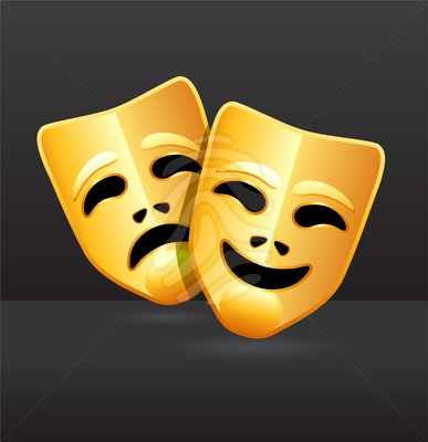 Greek Comedy and Tragedy Masks