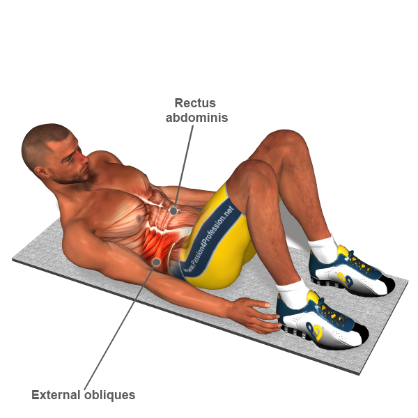 Massage Lateral Abdominal Muscles for Martial Artists