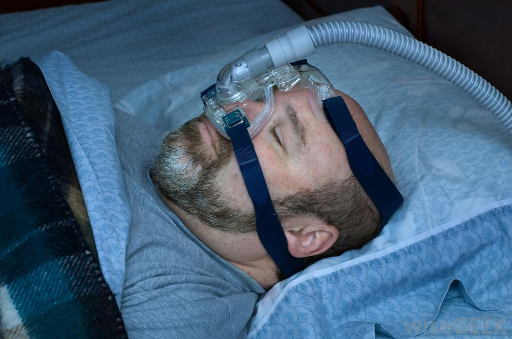minimize air swallowing with cpap