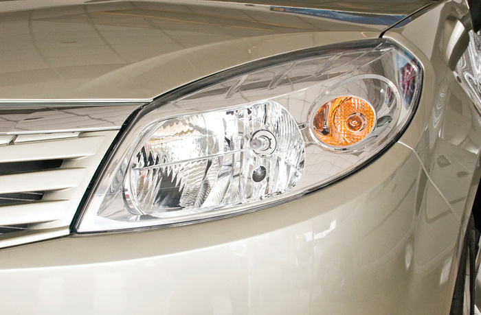 Plastic Car Lights